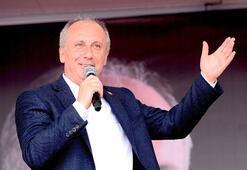 CHPnin cumhurbaşkanı adayı Muharrem İnce Uşakta