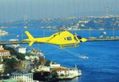 """""""Hava taksi""""  ile Kadıköy-Şişli arası 550 avro"""
