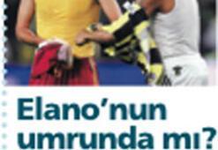Elano manşeti için şiddet eleştirisi var