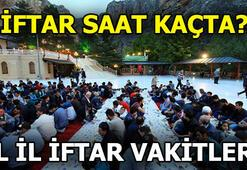 İftar saati ne zaman İşte  İstanbul, İzmir, Ankara iftar vakitleri...