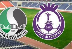 Sakaryaspor  Afjet Afyonspor maçı ne zaman saat kaçta hangi kanalda