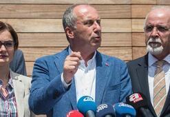 CHPnin cumhurbaşkanı adayı Muharrem İnce, Cerrahpaşada konuştu