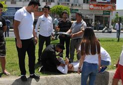 Antalyada kazada yaralanan turist kız için vatandaş seferber oldu