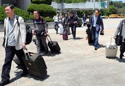 Son dakika... Kuzey Koreden Güney Koreli gazetecilere izin çıktı