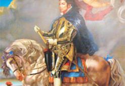 Şövalye Michael tablosunu göremedi