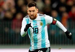 Arjantinin kadrosu belli oldu