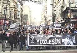 HDP şişli örgütü  Dink için yürüdü