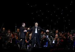Placido Domingodan İstanbulda muhteşem konser