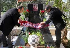 Samsunspor futbol şehitlerini unutmadı