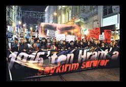 Hrant Dink meşaleli yürüyüşle anıldı