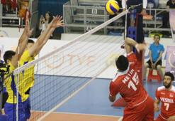 A Milli Erkek Voleybol Takımı, Ukrayna'yı 3-0 mağlup etti