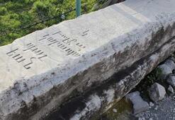 Dolmabahçenin mimarının kayıp mezar taşı şantiyede bulundu