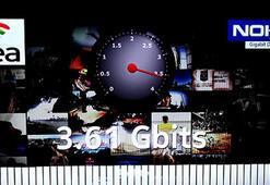 Türkiye'de 4G hız rekoru kırıldı
