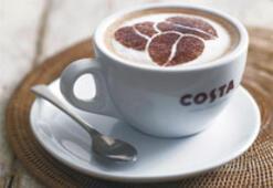 Costa Coffee gidiyor