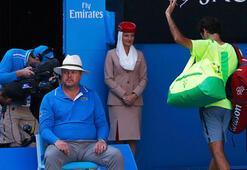 Avustralya Açıkta günün sürpriz Federer