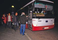Büyükşehir'den sabaha kadar ulaşım hizmeti