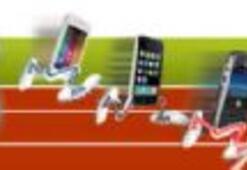 Telefonlar hız testinde...