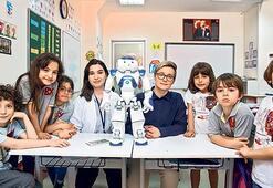 """""""Robotlar derse katılımı artırıyor"""""""