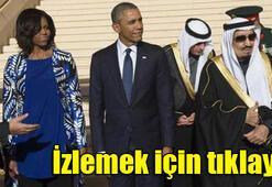 Kral Obamayı bırakıp gitti