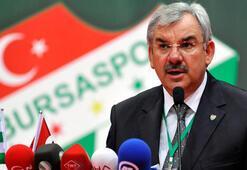 Bursaspor Başkanı Recep Bölükbaşından açıklama