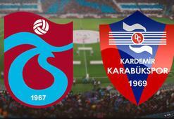 Trabzonspor Kardemir Karabükspor maçı ne zaman saat kaçta hangi kanalda