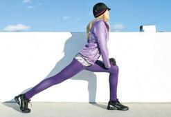 Sporda kıyafetler de enerjik