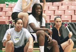 Kadın basketbolunun yıldızları bugün bir arada