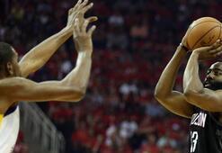 Rockets, Warriorsa fark attı, seriyi eşitledi