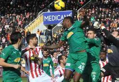 Medicana Sivasspor-Akhisar Belediyespor: 2-0