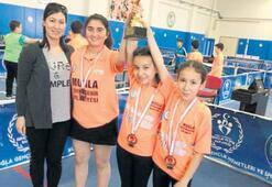 Muğla'nın gururları şampiyonada