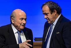 Sepp Blattere göre sorumlu Michel Platini