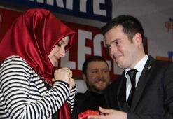 AK Partili Başkandan sürpriz evlilik teklifi