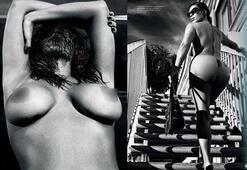 Kardashian kızları yine soyundu