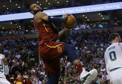 LeBron Jamesin tarihi performansı yetmedi Celtics 2-0 önde...