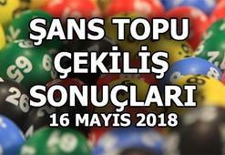 Şans Topu çekilişi sonuçları belli oldu (16 Mayıs 2018)