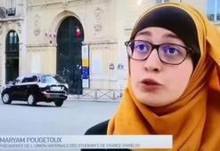 Fransa'da başörtülü sendika temsilcisine sosyal medyadan linç