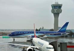 Azerbaycanın Rüya Uçağı Atatürk Havalimanında