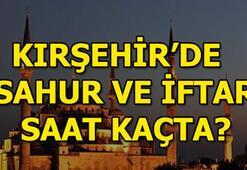 Kırşehir için iftar ve sahur vakti 2018 Ramazan imsakiyesi Kırşehir