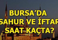 Bursada iftar saati kaç 2018 Bursa sahur vakti