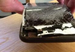 iPhone 6Sin patlama anı görüntülere yansıdı