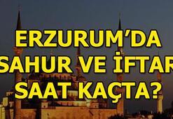 Erzurumda iftar saat kaçta açılacak Erzurum iftar ve sahur vakitleri