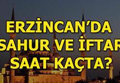 Erzincanda sahur ve iftar saat kaçta olacak 2018 Erzincan iftar vakti