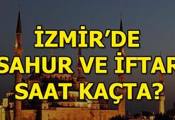 İzmirde sahur ve iftar saatleri - İzmir imsakiye 2018