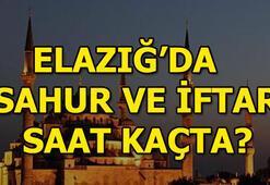 Elazığda iftar saat kaçta olacak 2018 Elazığ iftar ve imsak vakti