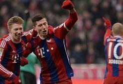 Bayern Münih, evinde Hamburgu yok etti: 8-0