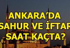 Ankara sahur vakti Ankarada sahur saat kaçta
