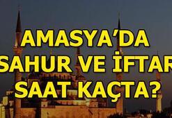 Amasyada iftar saat kaçta Amasya sahur vakti 2018