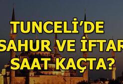 Tunceli için sahur ve iftar vakitleri Tunceli Ramazan İmsakiyesi