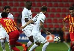 Kayserispor - Teleset Mobilya Akhisarspor: 1-2