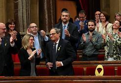 Katalonya ayrılıkçı iddiasını sürdürecek bir başkan seçti